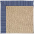 Capel Rugs Creative Concepts Cane Wicker - Vierra Navy (455) Rectangle 4