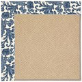 Capel Rugs Creative Concepts Cane Wicker - Batik Indigo (415) Rectangle 4