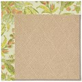 Capel Rugs Creative Concepts Cane Wicker - Cayo Vista Mojito (215) Rectangle 5