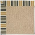 Capel Rugs Creative Concepts Cane Wicker - Long Hill Ebony (340) Rectangle 6