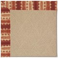 Capel Rugs Creative Concepts Cane Wicker - Java Journey Henna (580) Rectangle 6
