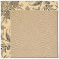 Capel Rugs Creative Concepts Cane Wicker - Cayo Vista Graphic (315) Rectangle 8