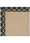 Capel Rugs Creative Concepts Cane Wicker - Arden Black (346) Rectangle 8' x 8' Area Rug