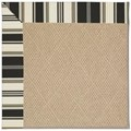 Capel Rugs Creative Concepts Cane Wicker - Down The Lane Ebony (370) Rectangle 8