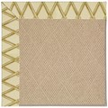 Capel Rugs Creative Concepts Cane Wicker - Bamboo Rattan (706) Rectangle 8
