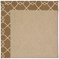 Capel Rugs Creative Concepts Cane Wicker - Arden Chocolate (746) Rectangle 12