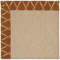 Capel Rugs Creative Concepts Cane Wicker - Bamboo Cinnamon (856) Rectangle 12