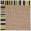 Capel Rugs Creative Concepts Grassy Mountain - Vera Cruz Coal (350) Octagon 4