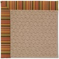 Capel Rugs Creative Concepts Grassy Mountain - Tuscan Stripe Adobe (825) Octagon 6