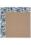 Capel Rugs Creative Concepts Grassy Mountain - Batik Indigo (415) Octagon 8' x 8' Area Rug