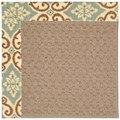 Capel Rugs Creative Concepts Grassy Mountain - Shoreham Spray (410) Octagon 10