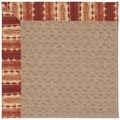 Capel Rugs Creative Concepts Grassy Mountain - Java Journey Henna (580) Octagon 10