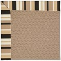 Capel Rugs Creative Concepts Grassy Mountain - Granite Stripe (335) Octagon 12