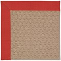 Capel Rugs Creative Concepts Grassy Mountain - Dupione Crimson (575) Octagon 12