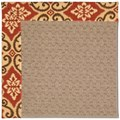Capel Rugs Creative Concepts Grassy Mountain - Shoreham Brick (800) Octagon 12