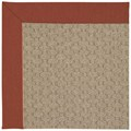 Capel Rugs Creative Concepts Grassy Mountain - Canvas Brick (850) Rectangle 7