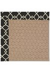 Capel Rugs Creative Concepts Grassy Mountain - Arden Black (346) Rectangle 8' x 10' Area Rug