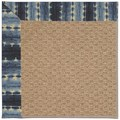 Capel Rugs Creative Concepts Raffia - Java Journey Indigo (460) Octagon 4