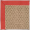 Capel Rugs Creative Concepts Raffia - Canvas Paprika (517) Octagon 4
