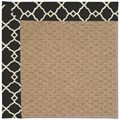 Capel Rugs Creative Concepts Raffia - Arden Black (346) Octagon 6