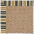 Capel Rugs Creative Concepts Raffia - Long Hill Ebony (340) Octagon 10