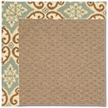 Capel Rugs Creative Concepts Raffia - Shoreham Spray (410) Octagon 10