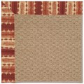 Capel Rugs Creative Concepts Raffia - Java Journey Henna (580) Octagon 10