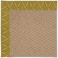 Capel Rugs Creative Concepts Raffia - Bamboo Tea Leaf (236) Octagon 12