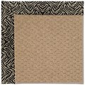 Capel Rugs Creative Concepts Raffia - Wild Thing Onyx (396) Octagon 12