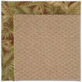 Capel Rugs Creative Concepts Raffia - Bahamian Breeze Cinnamon (875) Octagon 12