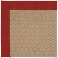 Capel Rugs Creative Concepts Raffia - Canvas Cherry (537) Runner 2