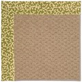 Capel Rugs Creative Concepts Raffia - Coral Cascade Avocado (225) Rectangle 3