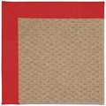 Capel Rugs Creative Concepts Raffia - Canvas Jockey Red (527) Rectangle 3