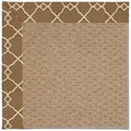 Capel Rugs Creative Concepts Raffia - Arden Chocolate (746) Rectangle 4