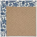 Capel Rugs Creative Concepts Raffia - Batik Indigo (415) Rectangle 6