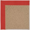 Capel Rugs Creative Concepts Raffia - Dupione Crimson (575) Rectangle 7