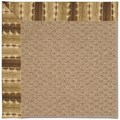 Capel Rugs Creative Concepts Raffia - Java Journey Chestnut (750) Rectangle 7