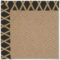 Capel Rugs Creative Concepts Raffia - Bamboo Coal (356) Rectangle 8