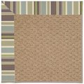 Capel Rugs Creative Concepts Raffia - Brannon Whisper (422) Rectangle 8