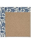 Capel Rugs Creative Concepts Raffia - Batik Indigo (415) Rectangle 8' x 10' Area Rug