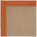 Capel Rugs Creative Concepts Raffia - Canvas Rust (837) Rectangle 8