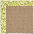 Capel Rugs Creative Concepts Raffia - Shoreham Kiwi (220) Rectangle 9