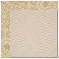 Capel Rugs Creative Concepts White Wicker - Paddock Shawl Mineral (310) Octagon 4