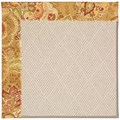 Capel Rugs Creative Concepts White Wicker - Tuscan Vine Adobe (830) Octagon 4