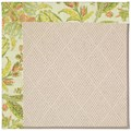 Capel Rugs Creative Concepts White Wicker - Cayo Vista Mojito (215) Octagon 8