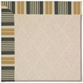Capel Rugs Creative Concepts White Wicker - Long Hill Ebony (340) Octagon 10