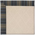 Capel Rugs Creative Concepts White Wicker - Vera Cruz Ocean (445) Octagon 12