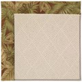 Capel Rugs Creative Concepts White Wicker - Bahamian Breeze Cinnamon (875) Octagon 12
