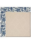 Capel Rugs Creative Concepts White Wicker - Batik Indigo Blue (415) Runner 2' 6