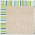 Capel Rugs Creative Concepts White Wicker - Capri Stripe Breeze (430) Runner 2